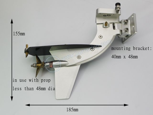 OZ RC Boat Supplies - Outboard Legs