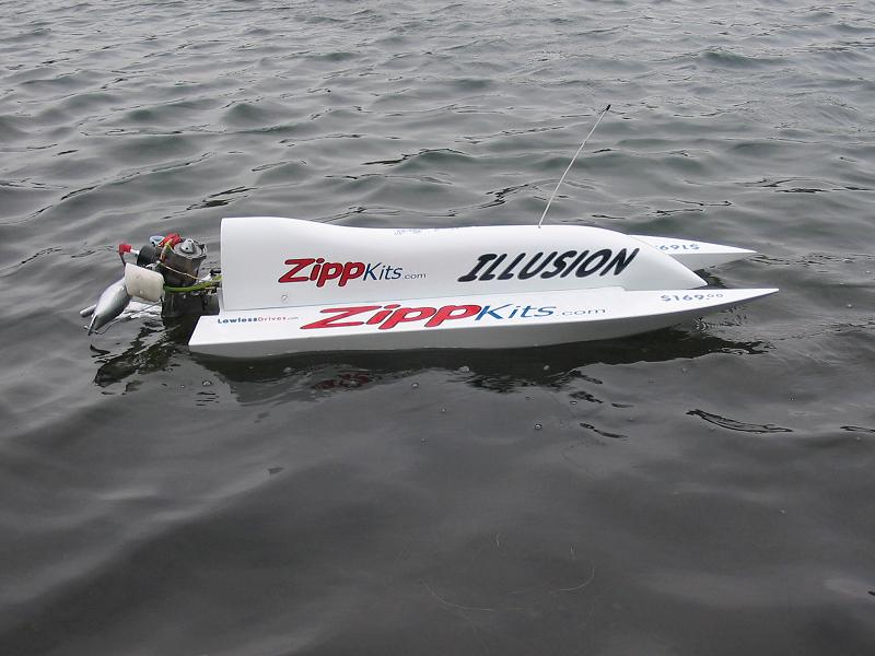 OZ RC Boat Supplies - Illusion